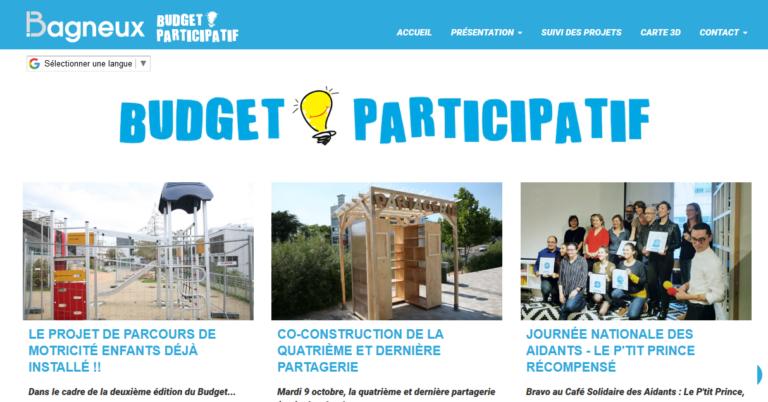 Budgets participatifs : Exemple de Bagneux